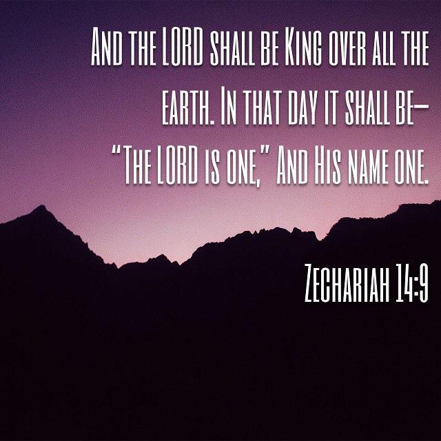 Zech 14:9